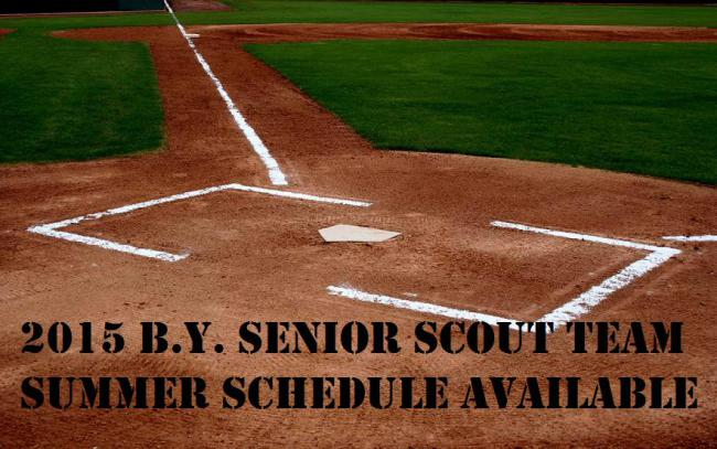 Bayside Yankees Senior Scout Team Summer 2015 Schedule Announced