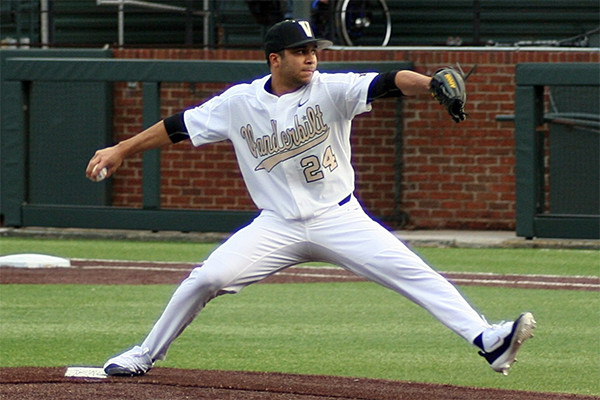 2011 BY Alum RHP Jordan Sheffield (Vanderbilt '16) picked 36th overall by Dodgers