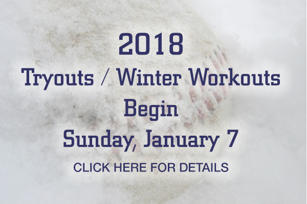 Registration for 2018 Winter Workouts is now available.