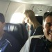 Blake Espinal (left) & Coach John Penatello (right) on the plane to New Mexico. thumbnail