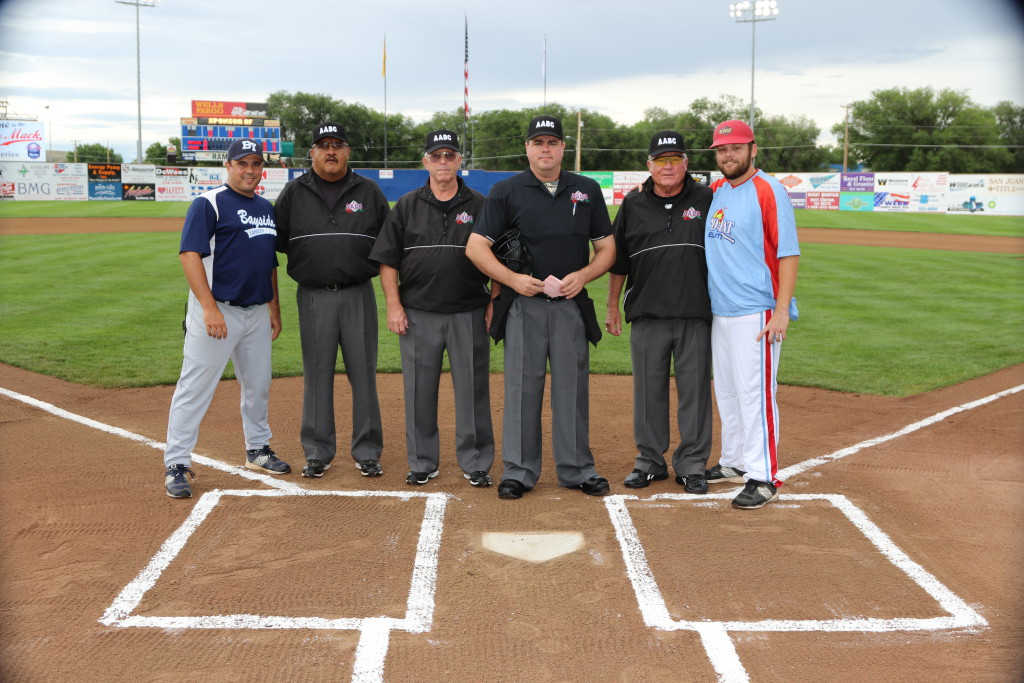 Pre-Game 1 - Home Plate Meeting