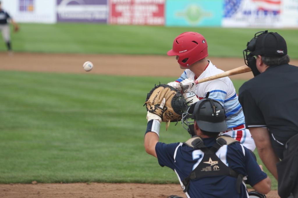 Catcher Sean Buckhout