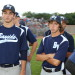 Chris Morgese (L) & Bullpen Catcher Dominic Hines (R) thumbnail