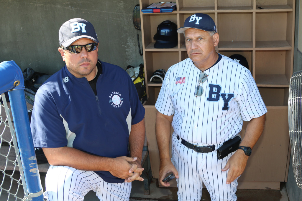 Coach Penatello (L) & Coach Cuseta (R)
